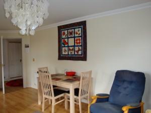 Mallard Flat: living room